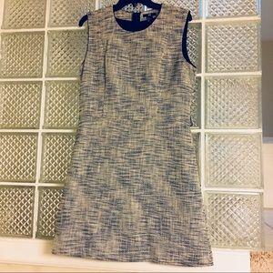 H&M Tweed Fit and Flare Dress Size 14